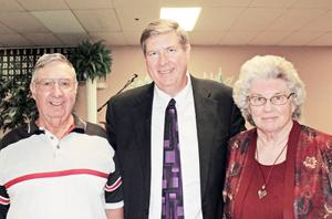 Citizen of the Year Credits His Parents