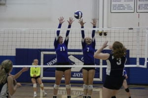 Lady Jays Split Matches