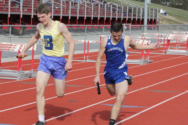 Washington Sweeps Meet