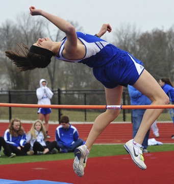 Houston Wins Girls Pentathlon Title, Leslie Finishes Second