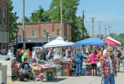 Downtown Flea Market Fills St. Louis Street