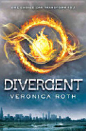 """Divergent, ""by Veronica Roth Cover"