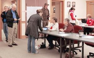 Voter Check-In