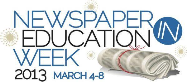 Newspaper In Education Week 2013