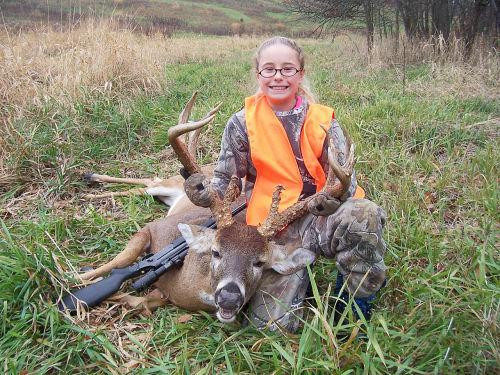 12 yr old bags 15 pt buck in Mo youth hunt