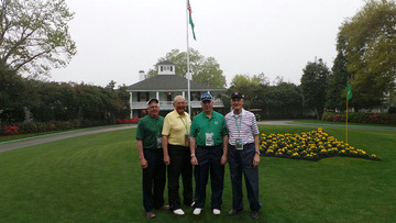 Leon Hove Enjoys Trip to Masters Golf Tournament