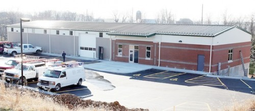 Fire Training Center Nears Completion