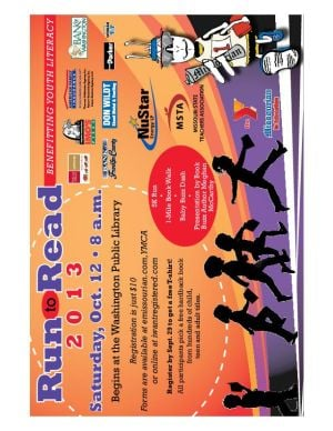 2013 Run to Read Registration Form