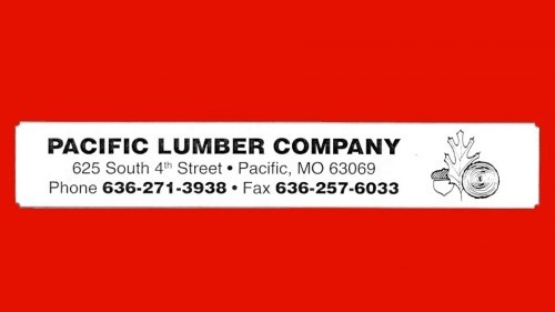 Pacific Lumber Co. Sponsor
