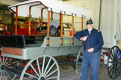 Charles Staats' 1860 Ambulance