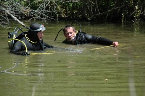 Divers Search Lake