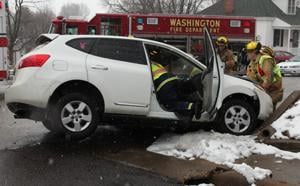 Vehicle Accident on West Third