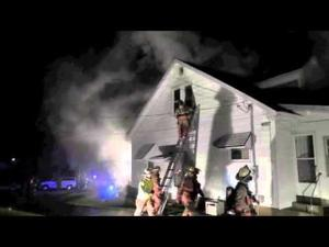 House Fire on Jefferson Street October 9  2014