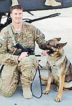 Soldier Seeks Information On Adopted Service Dog
