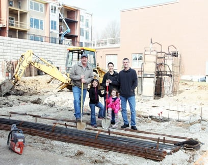 Restaurant Owners Break Ground