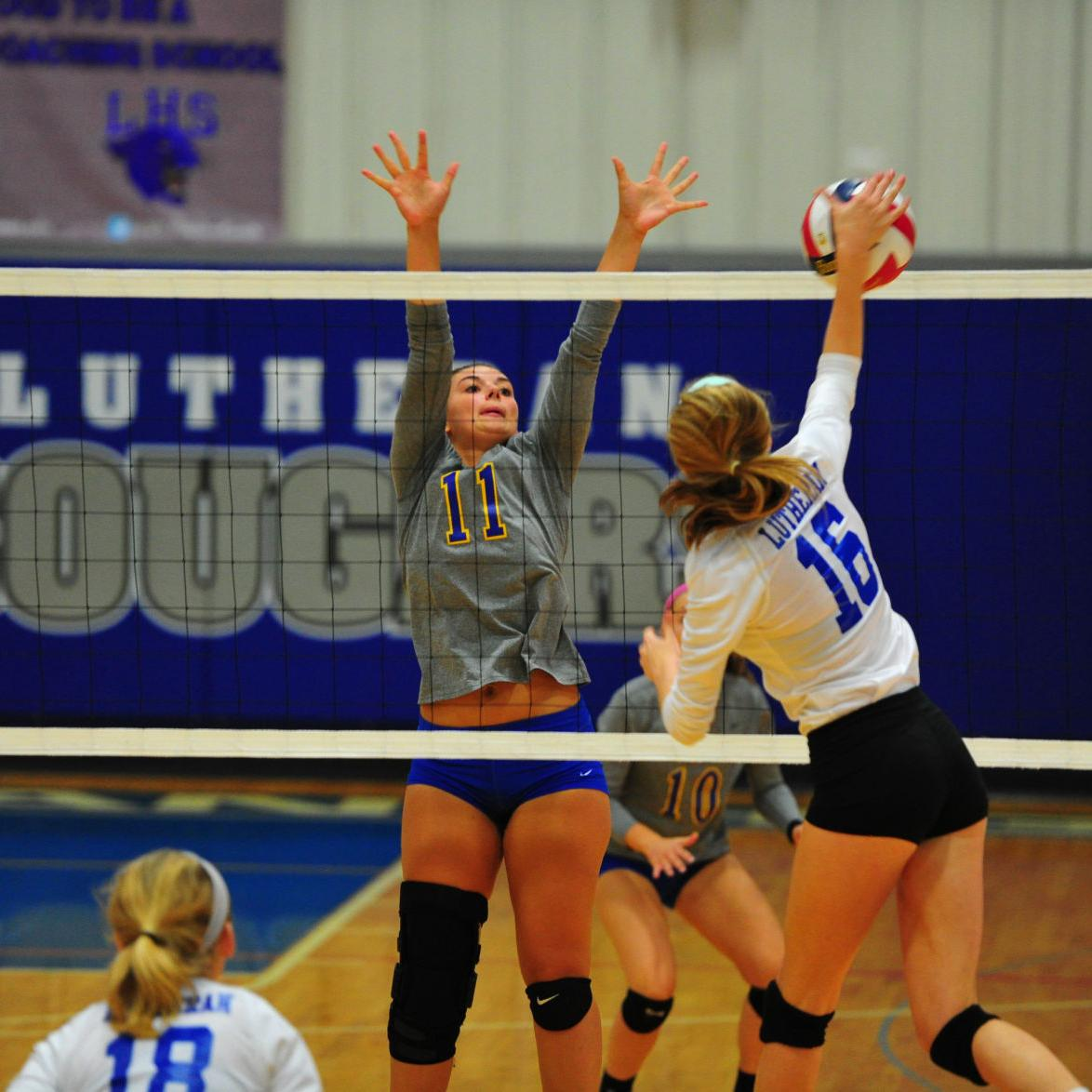 District Volleyball — Borgia vs. Lutheran St. Charles