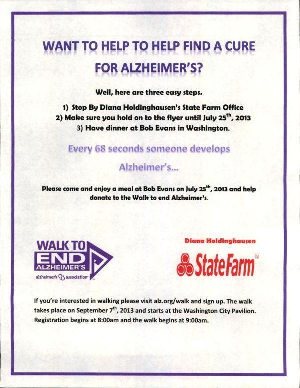 Want to Help to Help Find a Cure for Alzheimer's?