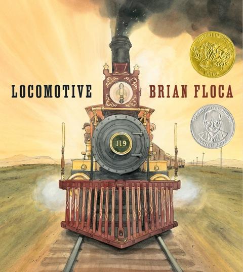 """""""Locomotive,"""" by Brian Floca"""