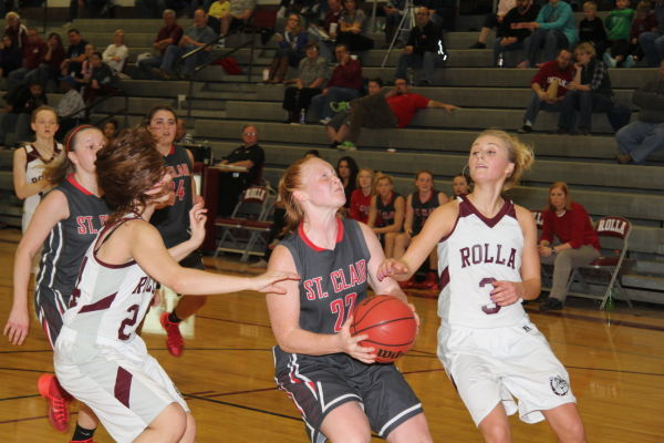 St. Clair Claims Third Place at Rolla