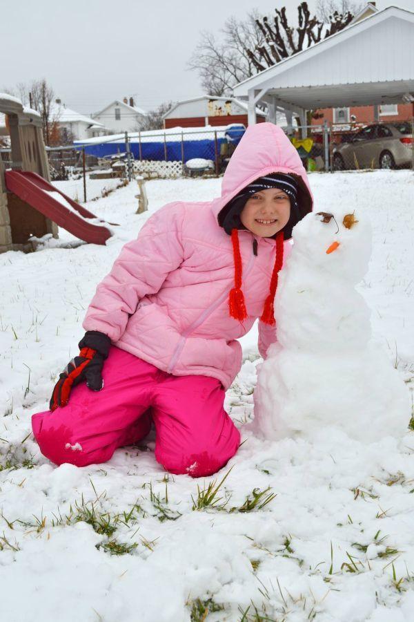 Snowman in Union