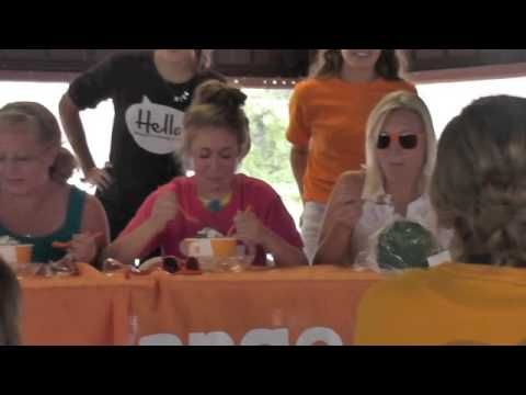 Frozen Yogurt Eating Contest at 2014 Washington Town and Country fair