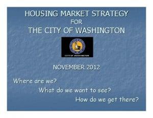 Affordable Housing in Washington