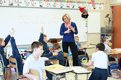 Jennifer Fregalette's First- and Second-Grade Classroom