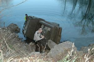 Truck Pulled From River