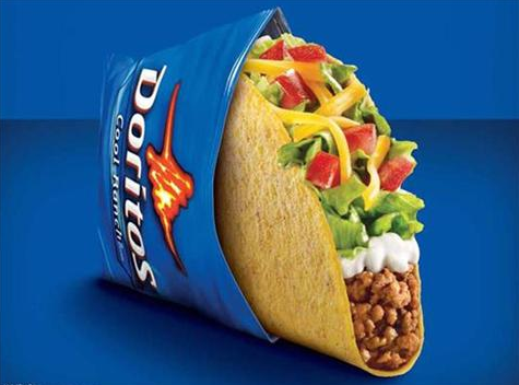 Doritos Locos in Cool Ranch Taco