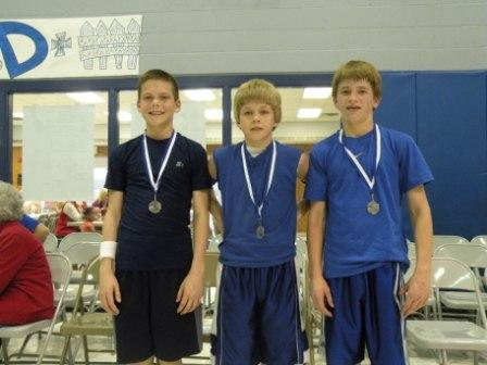 Second-Place Team for Sixth-Grade Boys