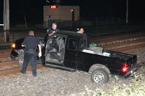 Trains Stopped for Saturday Morning Vehicle Accident