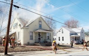 Family Escapes; Home Extensively Damaged in Fire