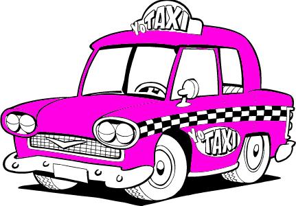 Yo Taxi Illustration