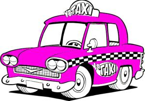Yo Taxi Illustration