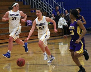 Lady Knights Topple Rosati-Kain