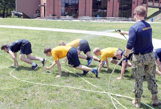 Cadets Get a Taste of Seal Training