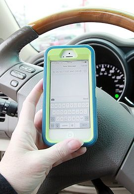 Statewide Texting and Driving Ban Needed, Griesheimer Says