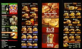 McDonald's Menu