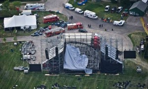 Collapsed Concert Stage at Downsview Park in Toronto
