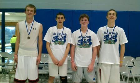 First-Place Team for Eighth-Grade Boys