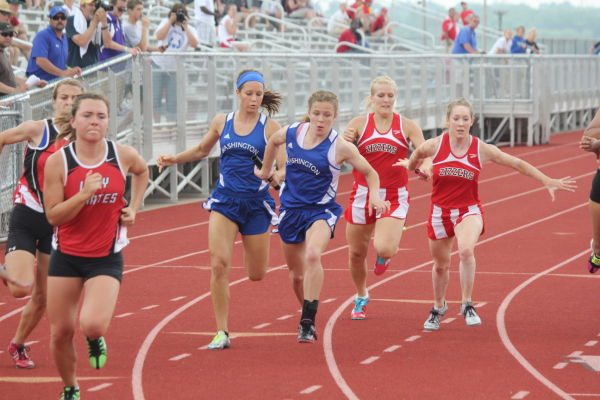 Washington Track at Sectional