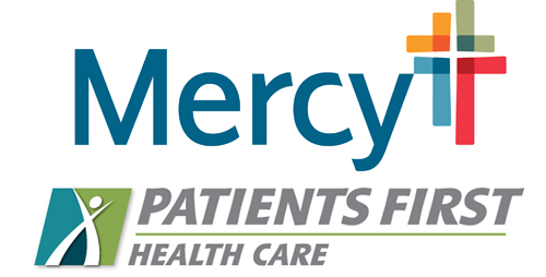 Mercy and Patients First Logos