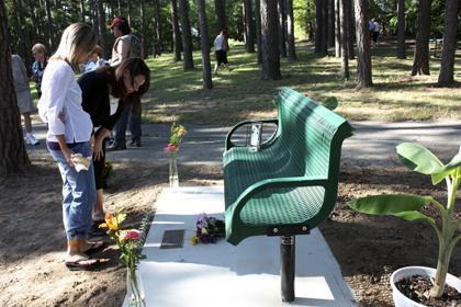 Read Memorial Bench Plaque