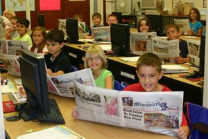Fourth-Grade Class Reads The Missourian