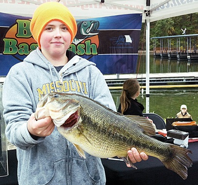 Wins Second in Big Bass Bash