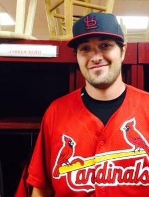 Reidt With Cardinals