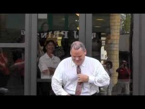 Bank of Washington Ice Bucket Challenge