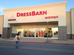 Dress Barn Entrance