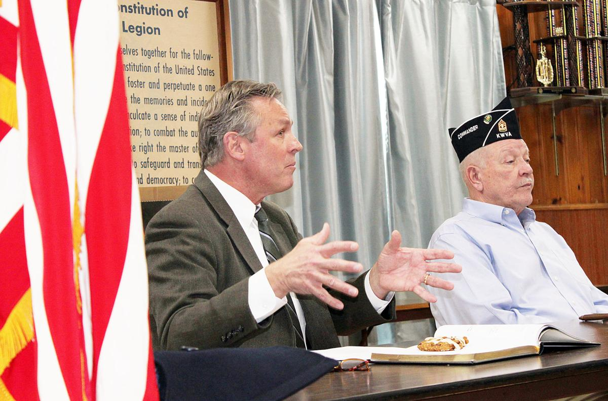 Veteran Commissioner Visits