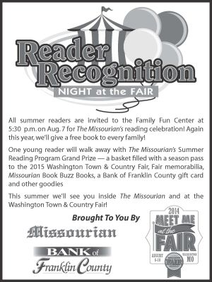Don't miss our reading event at the Washington Town & Country Fair!